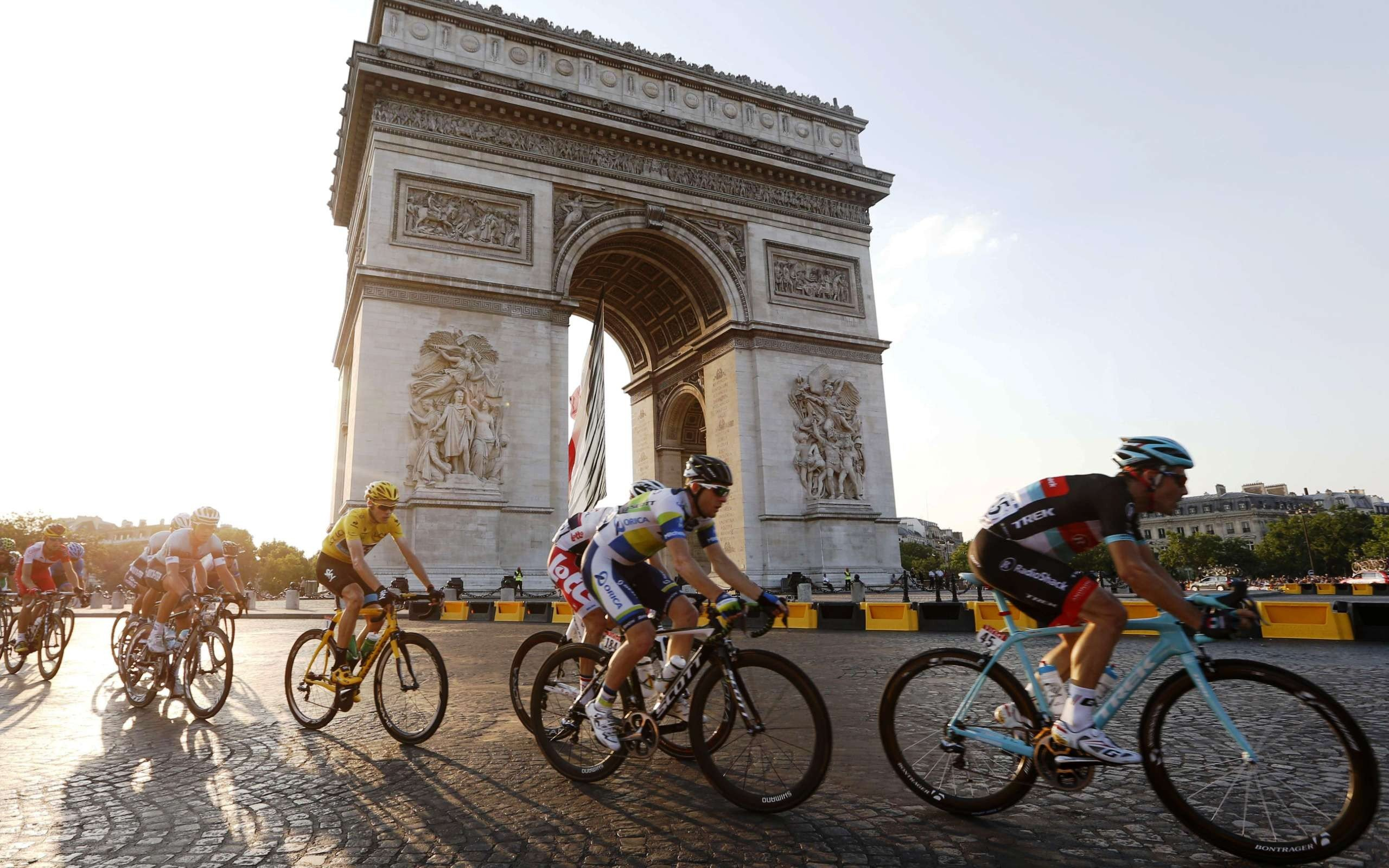 Acontecimientos deportivos en Francia durante el mes de Julio