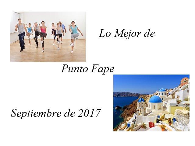 Lo Mejor de Punto Fape Septiembre 2017 1