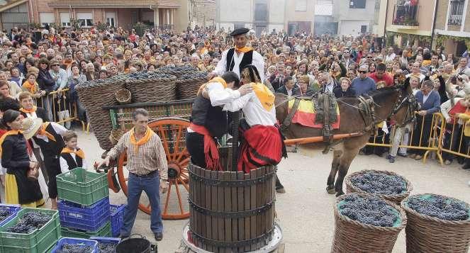 Otoño, época de Fiestas de la Vendimia en España 1