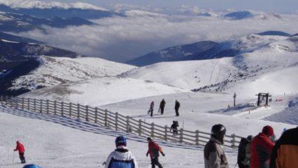 Estación de esquí La Molina, Pirineo Catalán