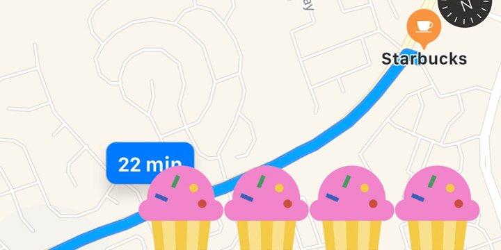 Google Maps eliminó su contador de calorías 1