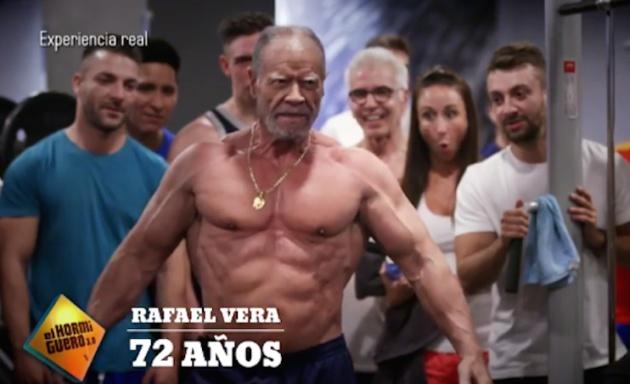 Rafael Vera, un culturista septuagenario 1
