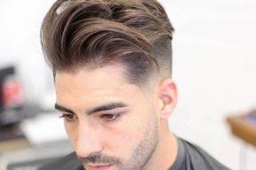 Estilo de corte para cabellos masculinos