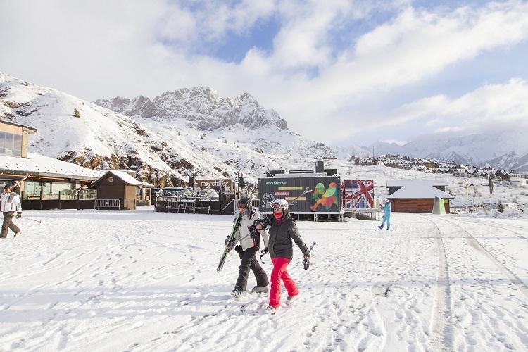 Navidad: Estaciones de esquí aragonesas estrenan nuevos recorridos