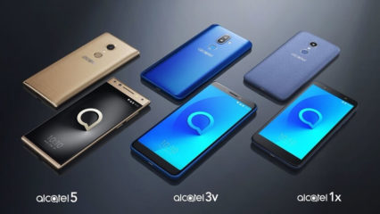Alcatel Series 1, 3 y 5 Pantalla Total