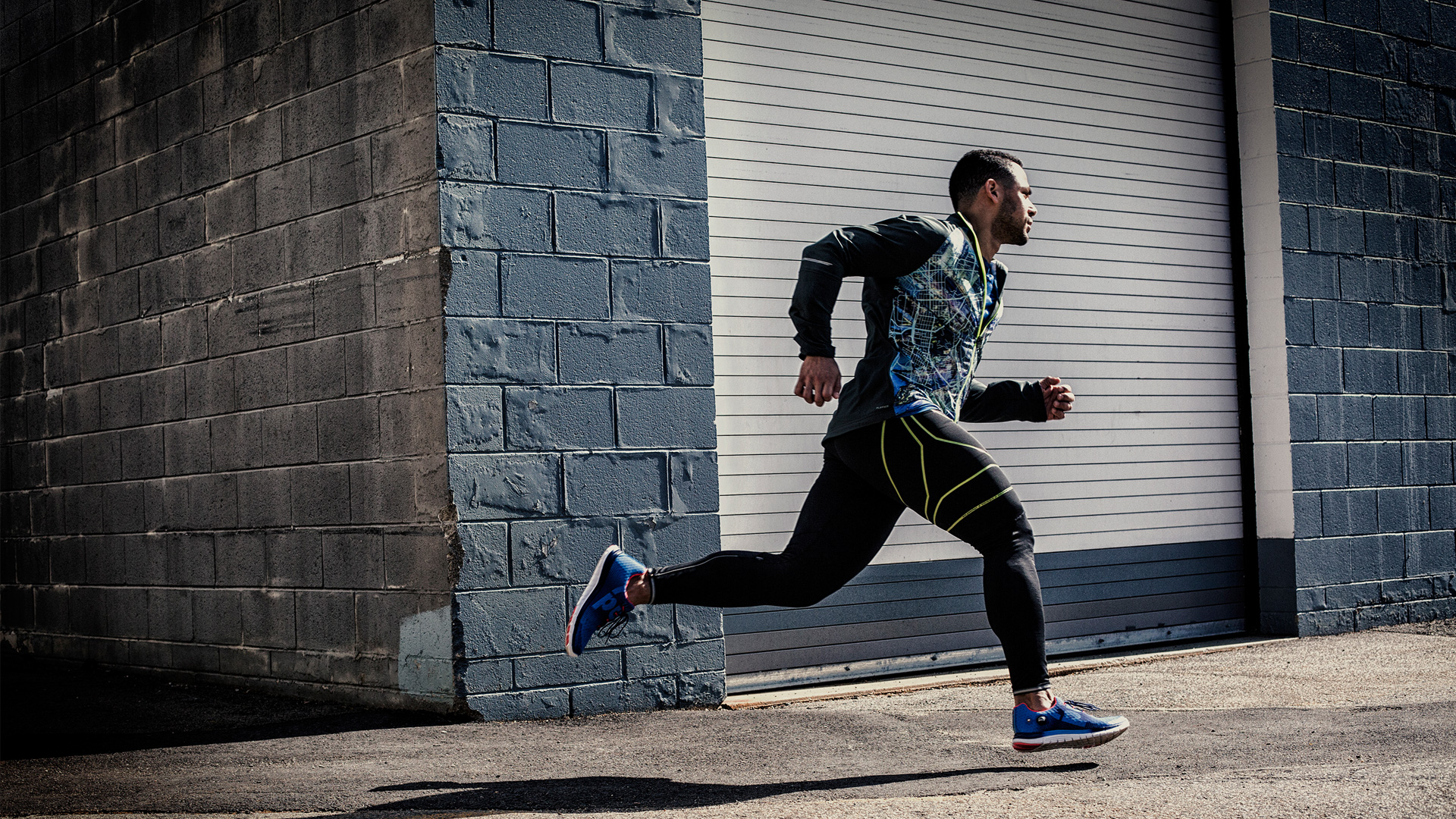 Hombre corriendo