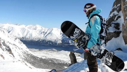 Invierno, esquí o snowboard