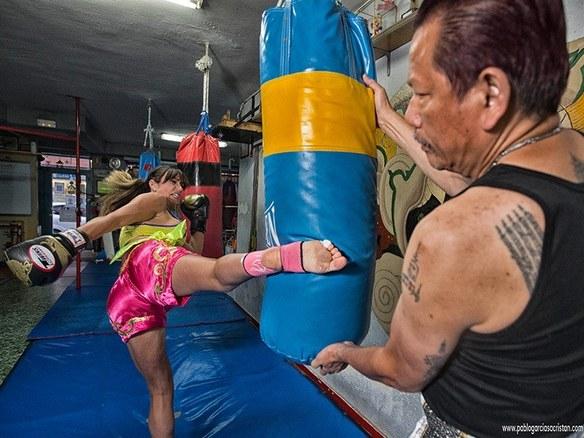 Yohanna Alonso, artes marciales como defensa personal de mujeres maltratadas 1