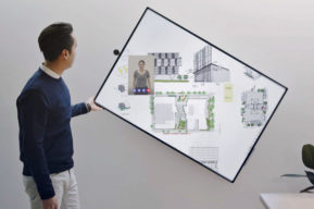 Microsoft Surface Hub 2, una tableta gigante