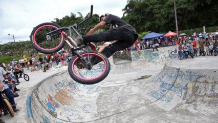 BMX, la modalidad acrobática del ciclismo
