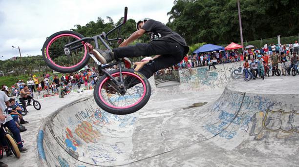 BMX, la modalidad acrobática del ciclismo 1