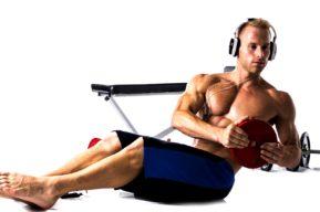Para trabajar la musculatura, conviene utilizar pesos ligeros