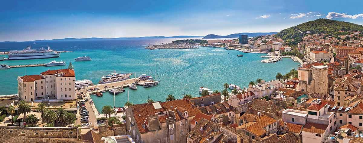 Split, un paraíso en la Costa Dálmata de Croacia 1