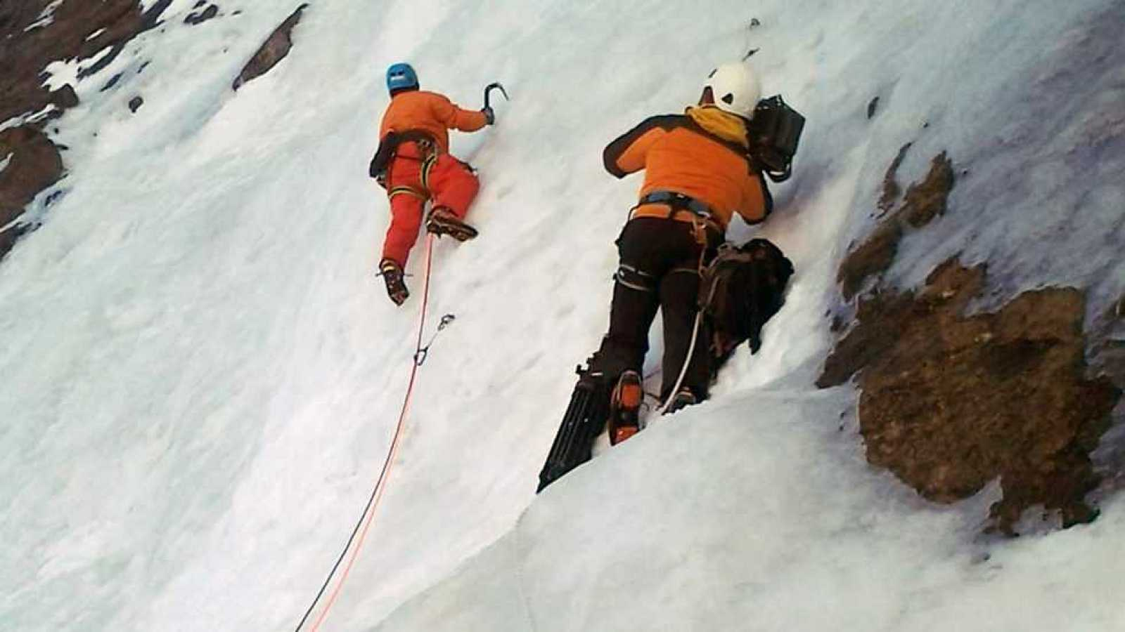 Escalada en hielo 1