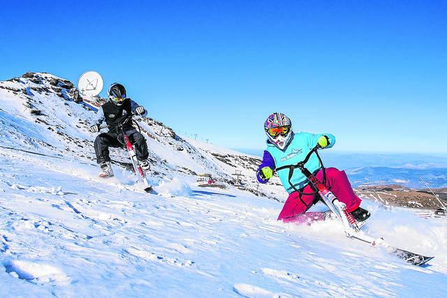 Skibike, esquí y bicicleta 1