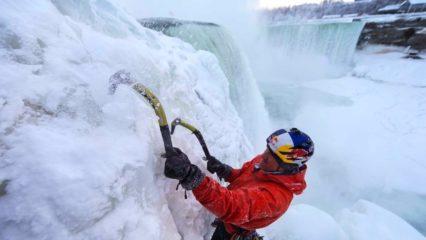 Escalada de cascadas heladas