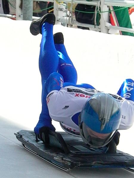 Skeleton, deporte extremo de invierno 1