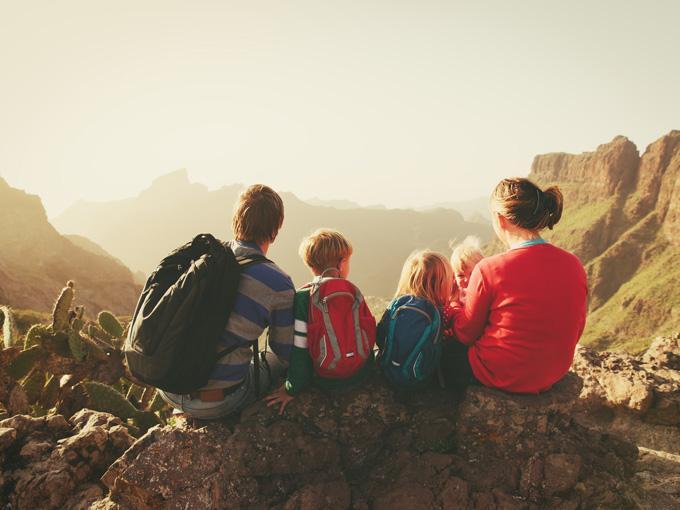Disfrutando de la montaña en familia 1
