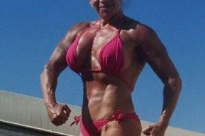Pepa Sanz una espectacular mujer culturista