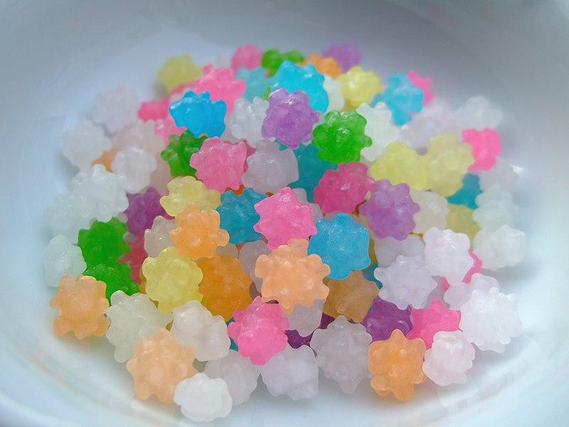 Caramelos sin azúcar para dietas bajas calorías 1