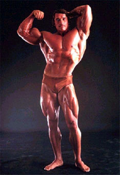 Campeones Culturistas, Arnold Schwarzenegger